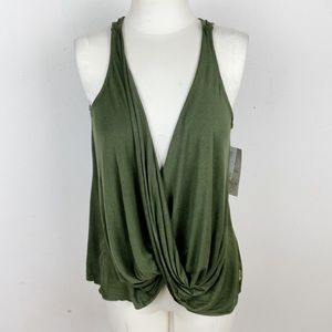 Balance Collection Wear Two Ways Yoga Top Size M